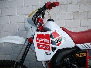 Aprilia RX125 Seite