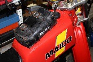 Original Brema-Tasche auf Maico