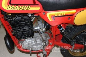 """Büse"" Maico GS 490, Motordetails"