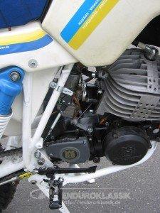 Husqvarna WR 240, Seitenansicht