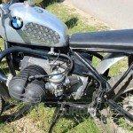 BMW Trialbike Seite