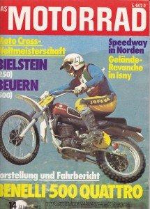 Motorrad Titelbild 1974