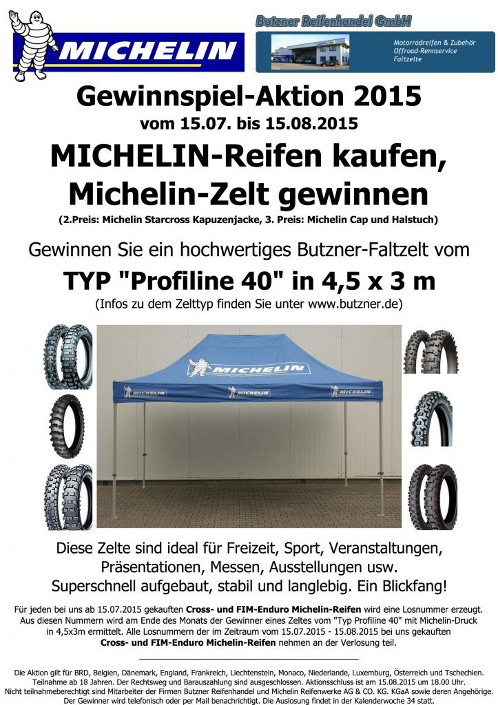 Michelin-Gewinnspielaktion