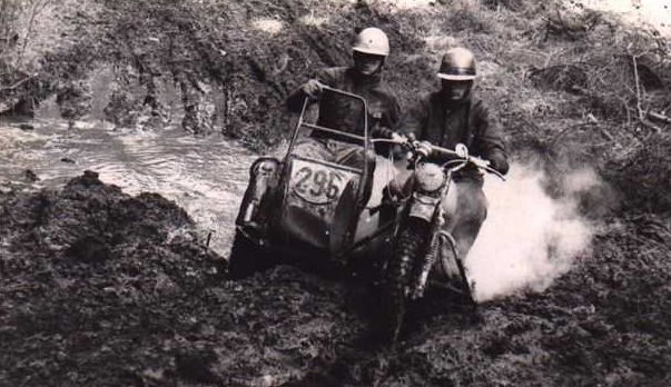 Gelände-Gespannfahrer damals ...