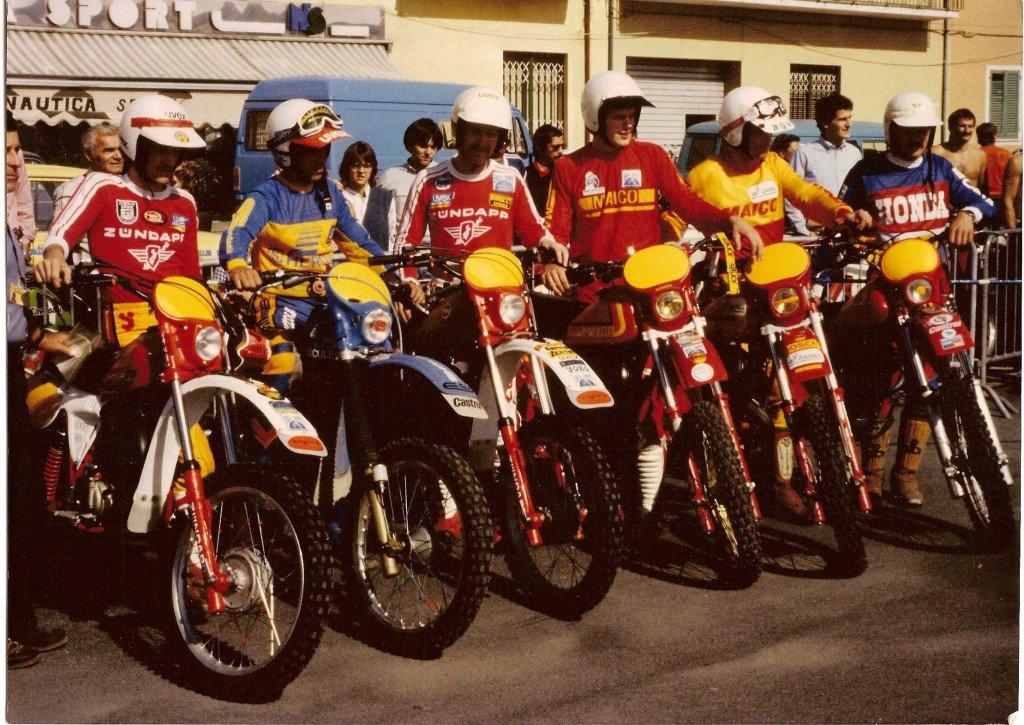 Trophymannschaft Elba 1981