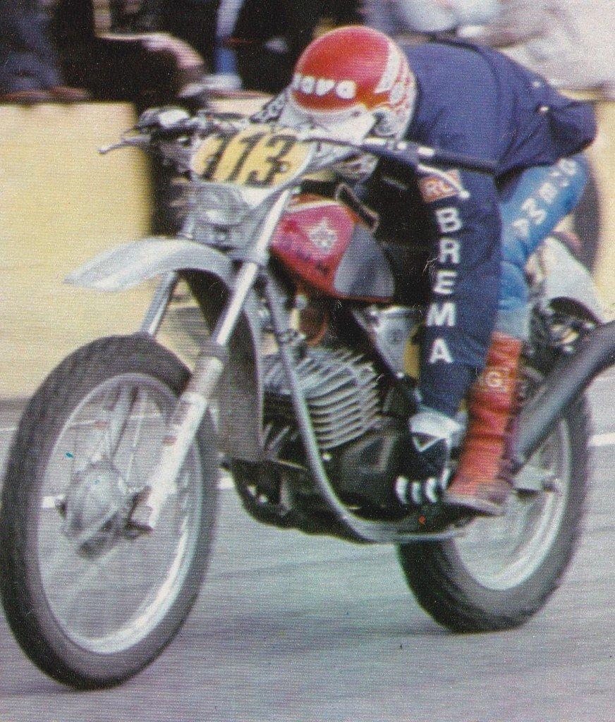Luigi Rottigni 1976 beim Speedtest