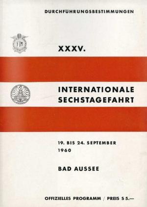 ISDT 1960_Programm