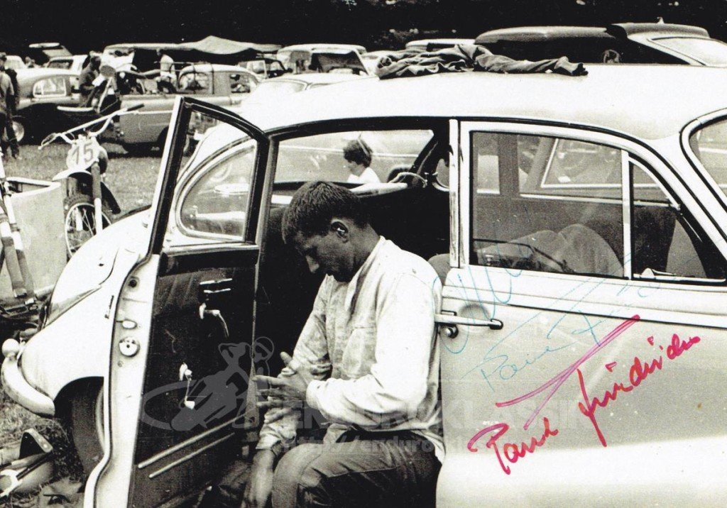 Paul Friedrichs im Fahrerlager in Belgien