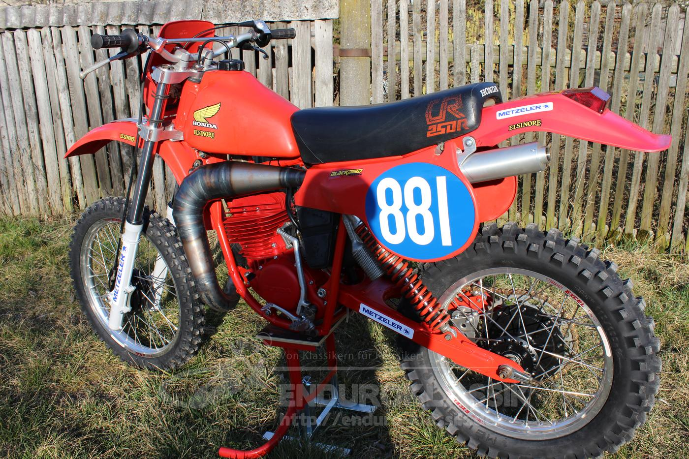 honda cr 250 bj 1978 enduro. Black Bedroom Furniture Sets. Home Design Ideas