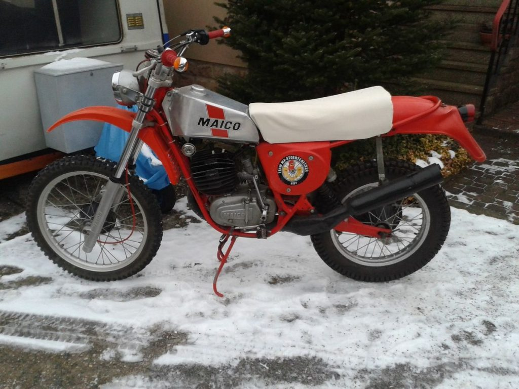 Maico GS Bj. 1977