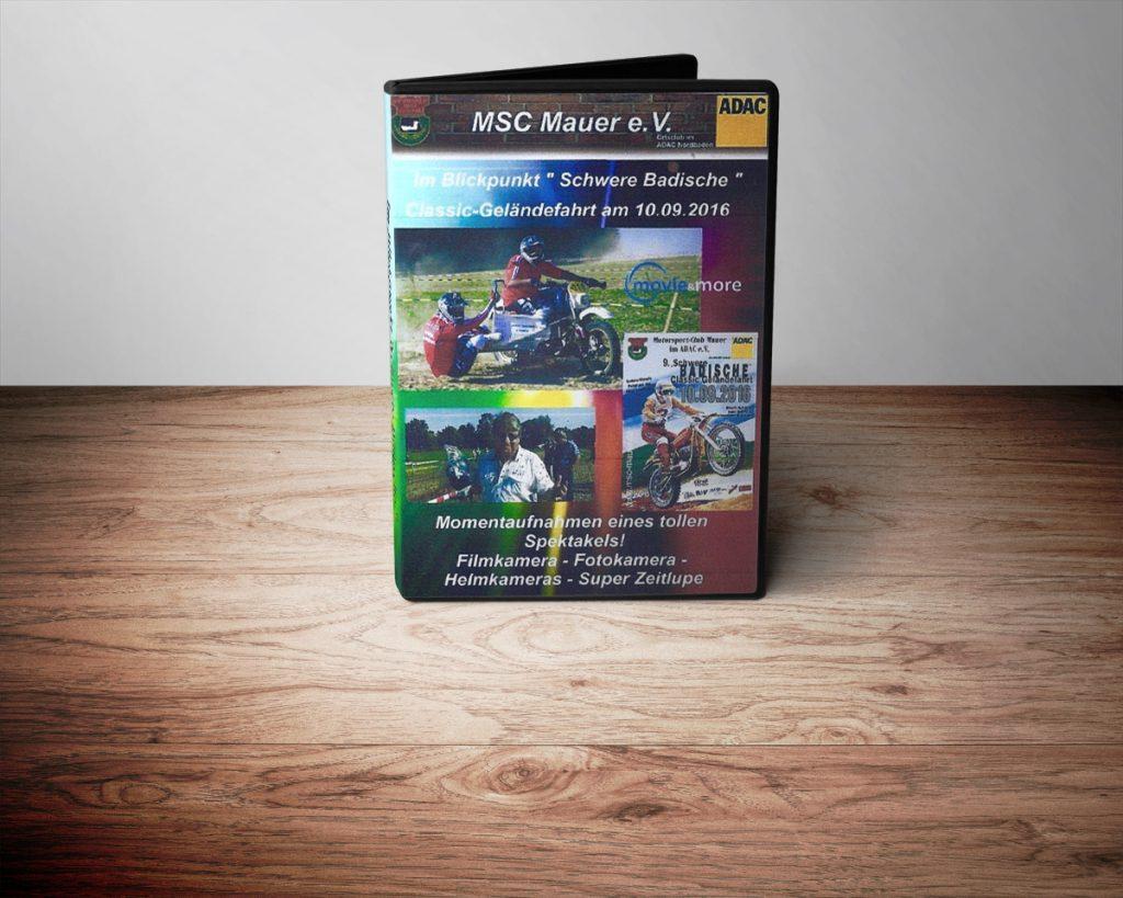 """DVD """"Schwere Badische Classic-Geländefahrt"""""""
