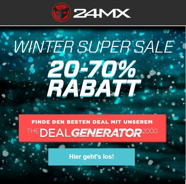24MX Winter Sale!