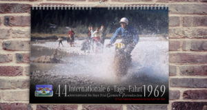"Wandkalender ""44. Internationale 6-Tage-Fahrt 1969"""
