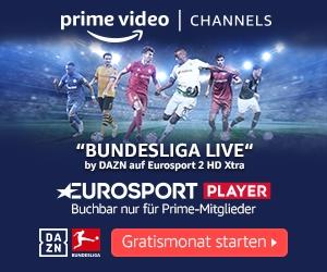 Bundesliga: 30 Tage kostenlos!