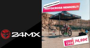 24MX Rennzelt Angebot 2020